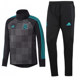 Real Madrid pre-match training warm up tracksuit 2018 - Adidas
