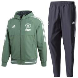 Manchester United präsentation trainingsanzug 2018 - Adidas