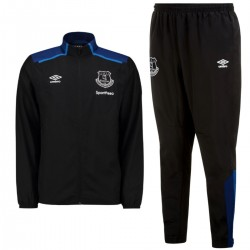 Everton training Presentation tracksuit 2017/18 black - Umbro