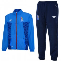 Azerbaijan national team training presentation tracksuit 2015/16 - Umbro