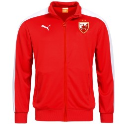 Red Star Belgrade T7 red presentation jacket 2016 - Puma