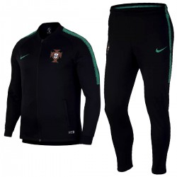 Portugal football black presentation tracksuit 2018/19 - Nike