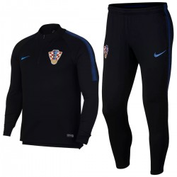 Croatia football team black tech training tracksuit 2018/19 - Nike