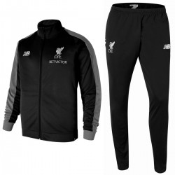 Liverpool FC black presentation tracksuit 2018/19 - New Balance