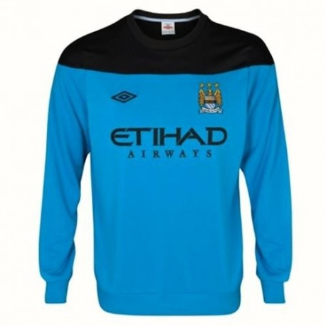 Manchester City's training Hoodie 2011/12-Umbro
