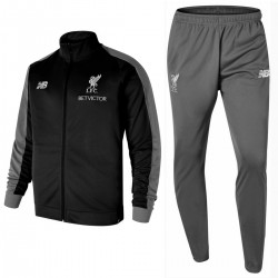 Liverpool FC black/grey presentation tracksuit 2018/19 - New Balance