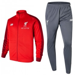 Liverpool FC red/grey presentation tracksuit 2018/19 - New Balance