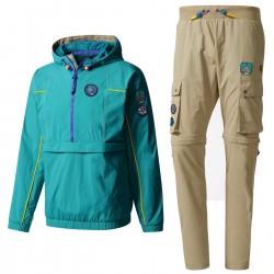 Adidas Originals - Pharrell Williams HU Hiking set (Windbreaker and cargo pants)