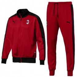 AC Milan T7 red presentation tracksuit 2018/19 - Puma