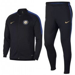 Inter Milan black training presentation tracksuit 2018/19 - Nike