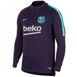 FC Barcelona purple training technical sweatshirt 2018/19 - Nike