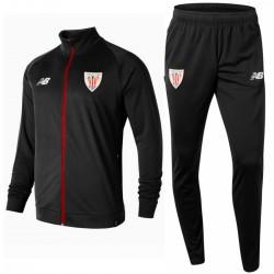 Athletic Club Bilbao black presentation tracksuit 2018/19 - New Balance
