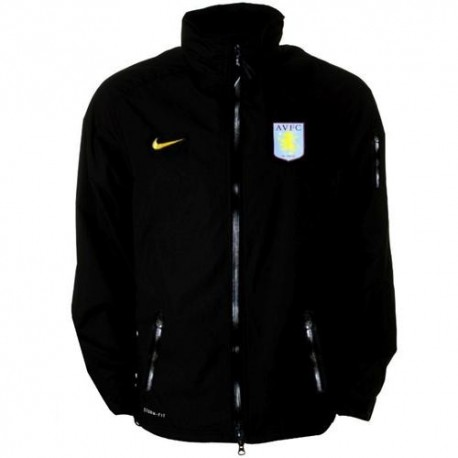 Anorak from Aston Villa FC training 11/12 Player Issue Nike racing