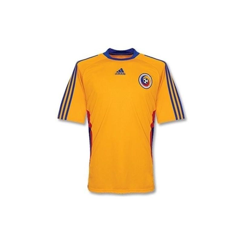 enfants nike shox 10 - Romania National Soccer Jersey Home 09/10 by Adidas - SportingPlus ...