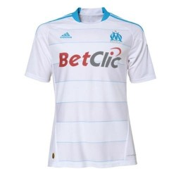 Olympique Marseille Home Jersey 10/11 Player Issue by Adidas