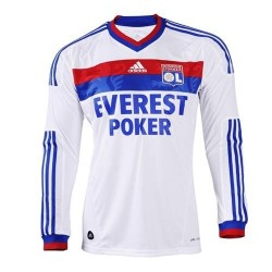 Olympique Lyon 2011 Jersey/12 Home by Adidas-long sleeves