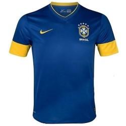 Brazil National Soccer Jersey Away 2012/13 by Nike