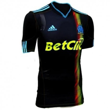 Olympique de Marseille Soccer Jersey 10/11 Third Player Issue Techfit by Adidas