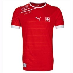 National Soccer Jersey Switzerland 2012/13 Home by Puma