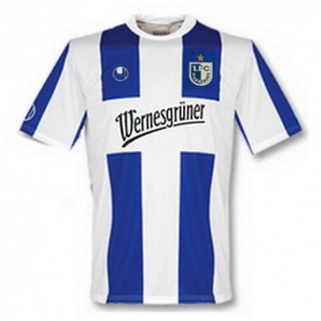 Magdeburg Football Jersey Home 09/10 Uhlsport