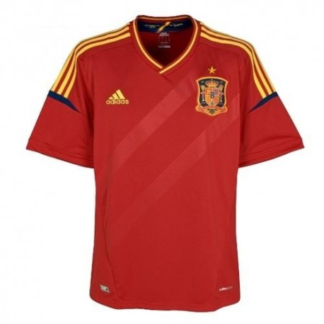 Spain National Jersey Home 12/13 by Adidas