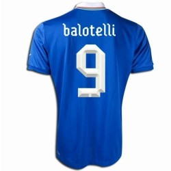 Italy National Soccer Jersey Home 2012/2013 Balotelli 9-Puma