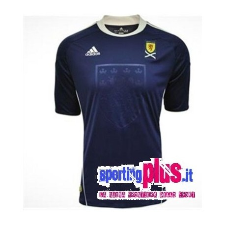 Scotland National Jersey 2010/12 Home by Adidas