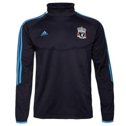 Liverpool FC training fleece 11/12 blue-Adidas