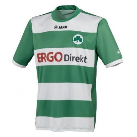 Football Jersey Greuther Furth 2011/12 Home-Jako