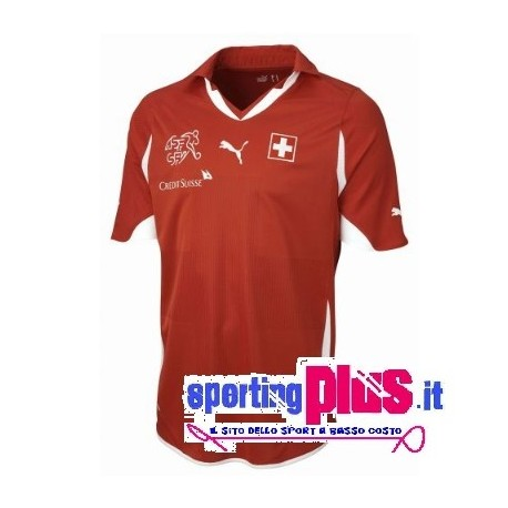 National Soccer Jersey 2010/12 Switzerland Home by Puma World Cup
