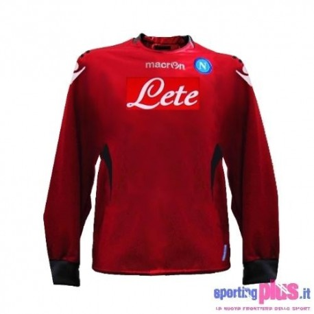 SSC Napoli Away goalkeeper shirt 10/11-Macron