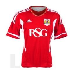 Bristol City FC Soccer Jersey 2011/12 Home-Adidas