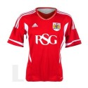 Bristol City FC Soccer Jersey 2011/12 Home-Adidas