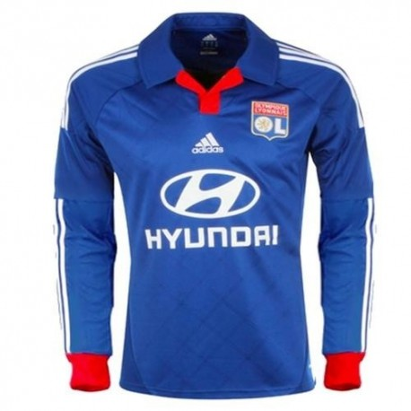 Link Olympique Lyon (Lyon) Away 2012/13-long sleeve Adidas