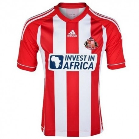 Sunderland FC football shirt Home Adidas 2012/13-