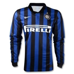 FC Inter Jersey Home 2011/12 Player authentic race Issue L/s Jersey-Nike