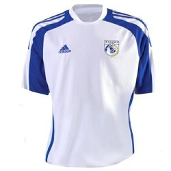 Cyprus National Soccer Jersey Away 2009/10-Adidas