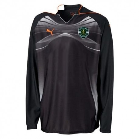 Sporting Lisbon goalkeeper shirt 2010/11 Home Player Issue authentic race-Puma