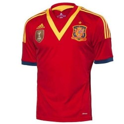 Spain National Jersey Home 14 2012/Adidas