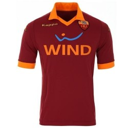 As Roma Home Soccer Jersey 2012/13-Kappa