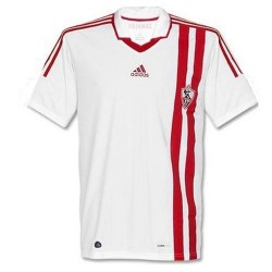 Football Jersey To Zamalek (Egypt) 2011/12-Home Adidas
