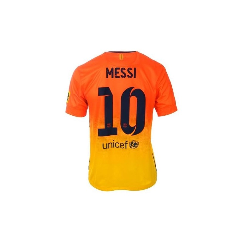 Fc barcelone maillot exterieur 2012 13 messi 10 nike for Barcelone maillot exterieur