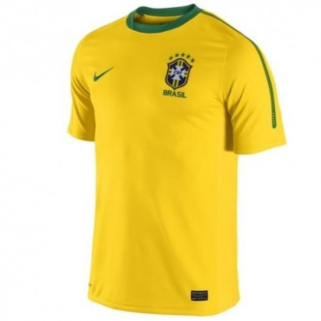 Brazil's National Soccer Jersey Home 2010/12-Nike