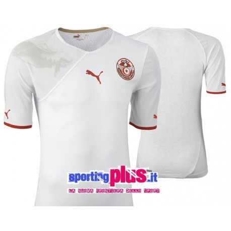 National Football shirt 2009/11 Tunisia by Puma World Cup