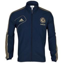 Representing Chelsea FC jacket 2012/2013 Adidas-blue