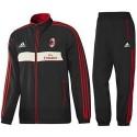 Repräsentative Trainingsanzug 2012/2013: AC Milan-Adidas