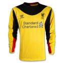 Liverpool FC Goalkeeper Jersey Away 2012/13 long sleeves-Warrior