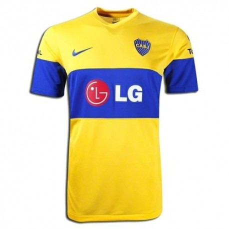 Boca Juniors Soccer Jersey 2011/12 Nike Away