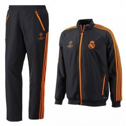 Real Madrid CF UCL presentation tracksuit 2013/14 Adidas