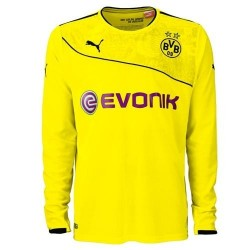BVB Borussia Dortmund Jersey Christmas Christmas version 2013/14 long sleeve shirt-Puma